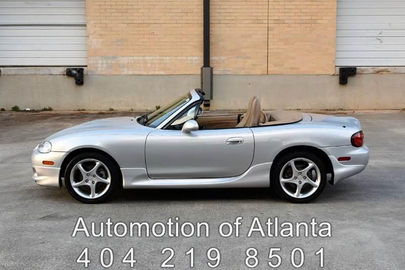 2001 Mazda MX-5 Miata for sale at Automotion Of Atlanta in Conyers GA
