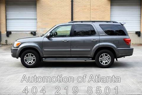 2005 Toyota Sequoia for sale at Automotion Of Atlanta in Conyers GA