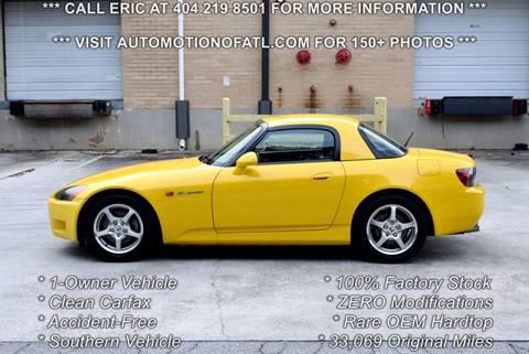 2003 Honda S2000 for sale in Tucker, GA