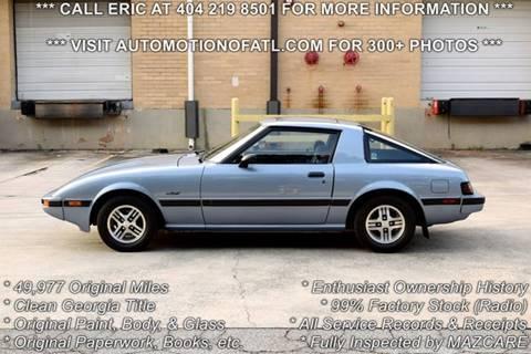 1983 Mazda RX-7 for sale in Tucker, GA