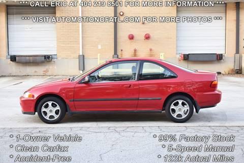 1993 Honda Civic for sale in Tucker, GA