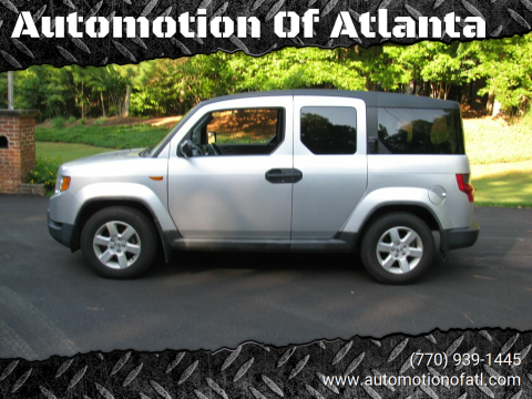2009 Honda Element for sale at Automotion Of Atlanta in Conyers GA