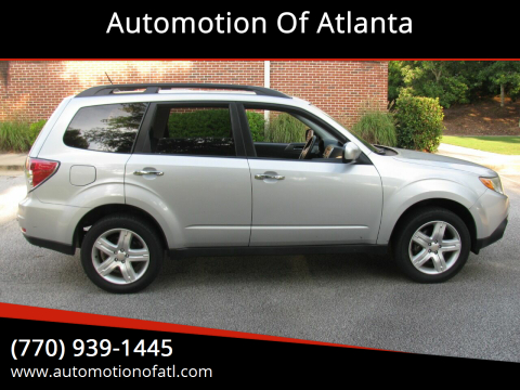 2010 Subaru Forester for sale at Automotion Of Atlanta in Conyers GA