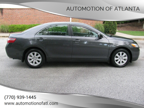 2008 Toyota Camry for sale at Automotion Of Atlanta in Conyers GA