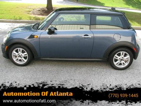 2011 MINI Cooper for sale at Automotion Of Atlanta in Conyers GA