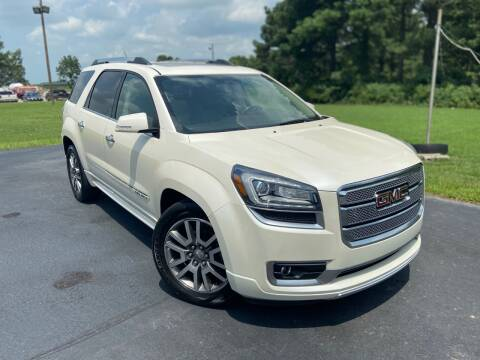 2013 GMC Acadia for sale at D3 Auto Sales in Des Arc AR