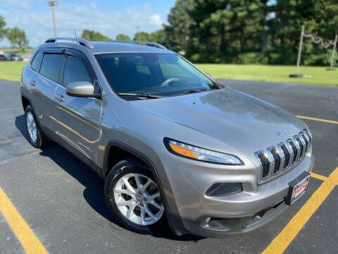 2016 Jeep Cherokee for sale at D3 Auto Sales in Des Arc AR