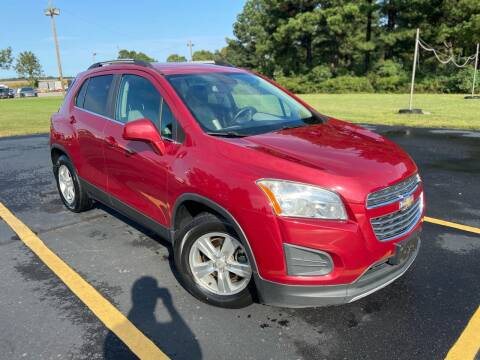 2015 Chevrolet Trax for sale at D3 Auto Sales in Des Arc AR