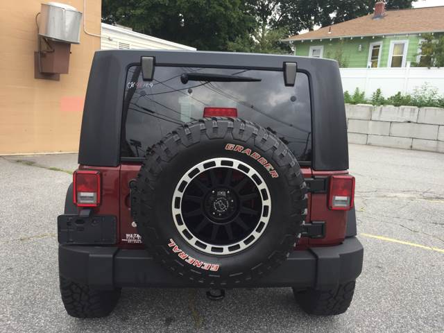 2008 Jeep Wrangler Unlimited for sale at Hi-Tech Auto Sales in Providence RI