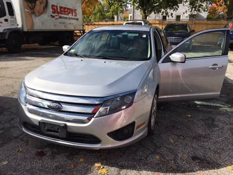 2010 Ford Fusion for sale at Hi-Tech Auto Sales in Providence RI