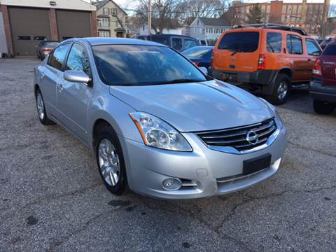 2012 Nissan Altima for sale at Hi-Tech Auto Sales in Providence RI