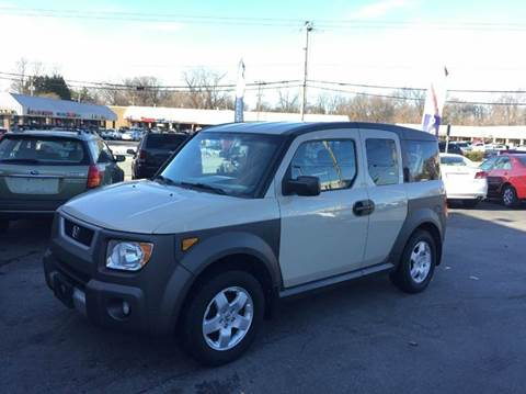 2005 Honda Element for sale at Hi-Tech Auto Sales in Providence RI