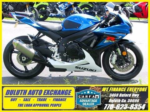 2014 Suzuki GSXR600 for sale in Duluth, GA