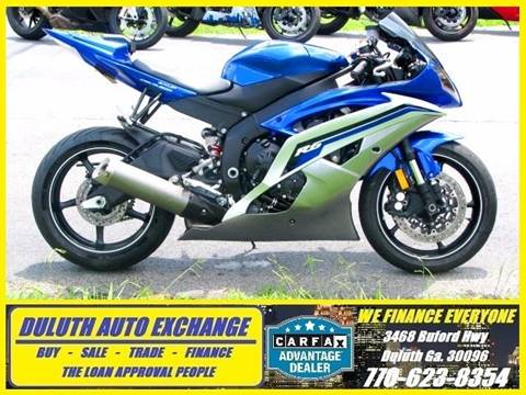 2014 Yamaha YZF-R6 for sale in Duluth, GA