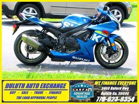 2015 Suzuki GSXR600 for sale in Duluth, GA