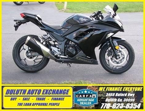 2014 Kawasaki EX300 for sale in Duluth, GA