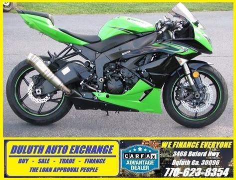 2011 Kawasaki Ninja ZX-6R for sale in Duluth, GA