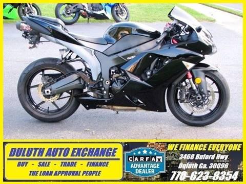2008 Kawasaki ZX6R Ninja for sale in Duluth, GA