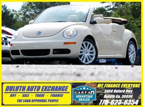 2010 Volkswagen New Beetle for sale in Duluth, GA