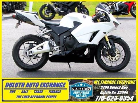 2013 Honda CBR600RR for sale at Duluth Auto Exchange in Duluth GA