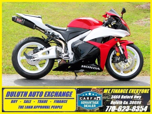 2012 Honda CBR600RR for sale at Duluth Auto Exchange in Duluth GA