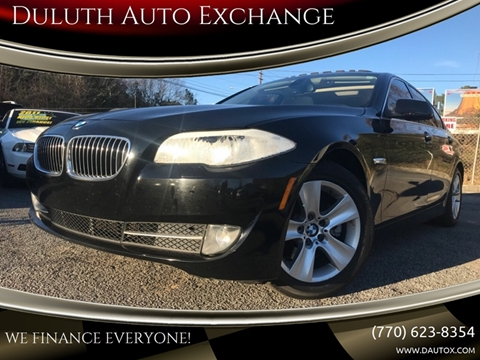 2012 BMW 5 Series for sale in Duluth, GA
