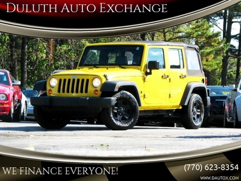 2008 Jeep Wrangler Unlimited for sale in Duluth, GA