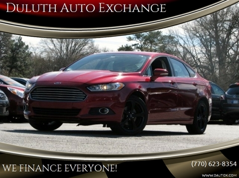 2016 Ford Fusion for sale in Duluth, GA