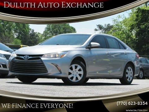 2017 Toyota Camry for sale in Duluth, GA
