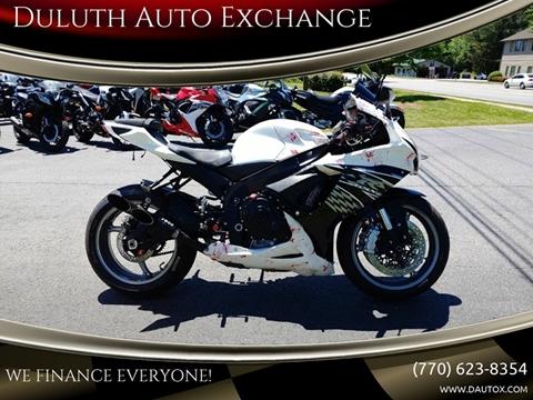 2011 Suzuki GSX-R600 for sale in Duluth, GA