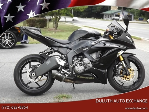2013 Kawasaki Ninja ZX-6R for sale in Duluth, GA