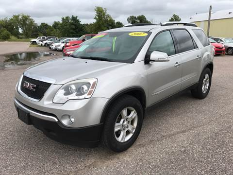 2007 GMC Acadia for sale in Baraboo, WI