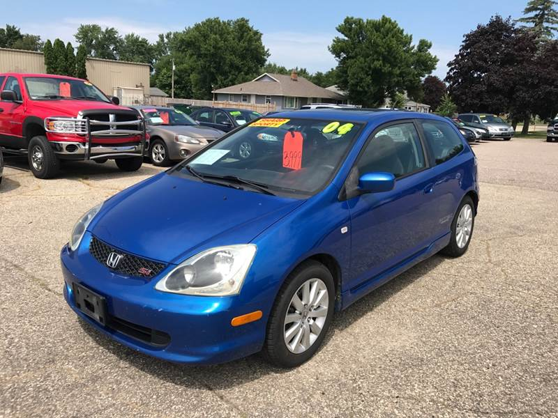 2004 Honda Civic Si 2dr Hatchback Wside Airbags In Portage Wi