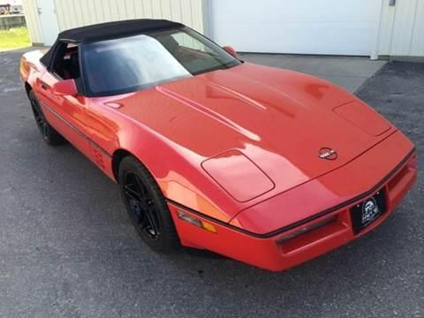 1990 Chevrolet Corvette for sale at River Motors in Portage WI