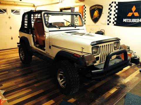 1995 Jeep Wrangler for sale at River Motors in Portage WI