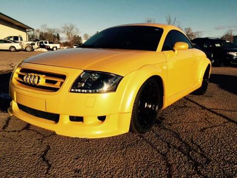 2003 Audi TT for sale at River Motors in Portage WI