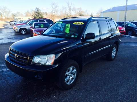 2003 Toyota Highlander for sale in Baraboo, WI