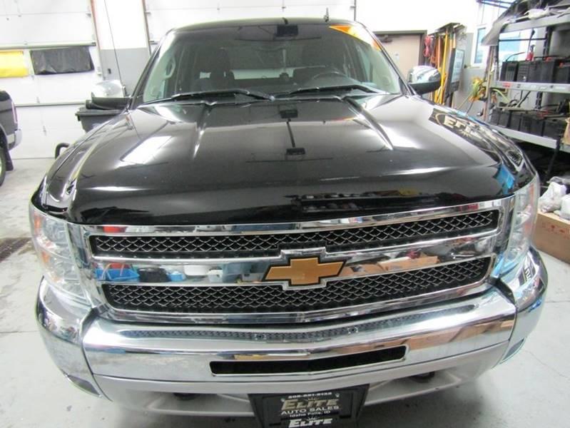 2013 Chevrolet Silverado 1500 4x4 LT 4dr Crew Cab 5.8 ft ...