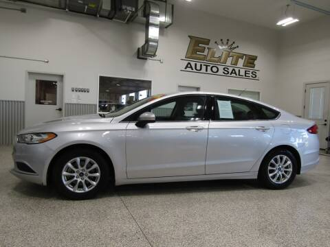 2017 Ford Fusion for sale at Elite Auto Sales in Idaho Falls ID