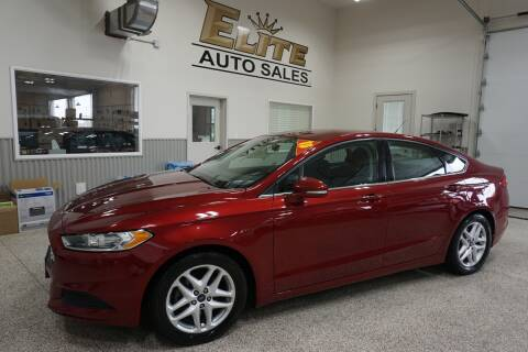 2015 Ford Fusion for sale at Elite Auto Sales in Idaho Falls ID