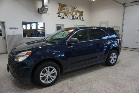 2017 Chevrolet Equinox for sale at Elite Auto Sales in Idaho Falls ID