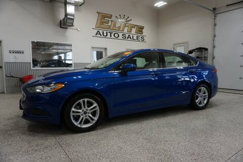 2018 Ford Fusion for sale at Elite Auto Sales in Idaho Falls ID