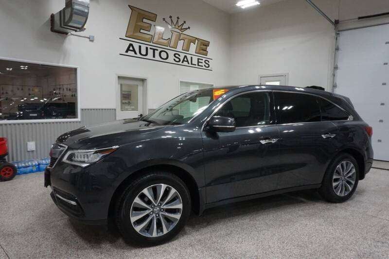 2016 Acura MDX for sale at Elite Auto Sales in Idaho Falls ID