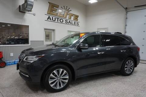 2016 Acura MDX for sale at Elite Auto Sales in Idaho Falls ID
