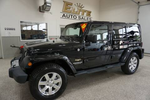 2015 Jeep Wrangler Unlimited for sale at Elite Auto Sales in Idaho Falls ID