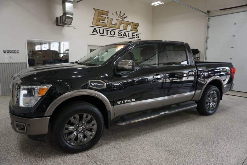 2017 Nissan Titan for sale at Elite Auto Sales in Idaho Falls ID