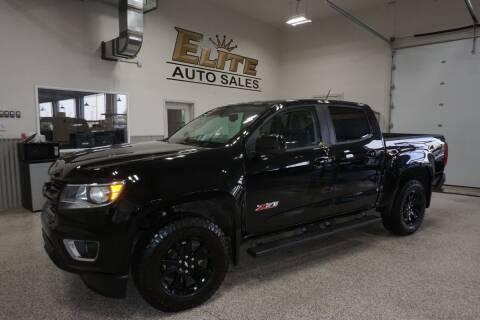 2017 Chevrolet Colorado for sale at Elite Auto Sales in Idaho Falls ID