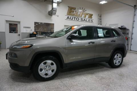 2017 Jeep Cherokee for sale at Elite Auto Sales in Idaho Falls ID