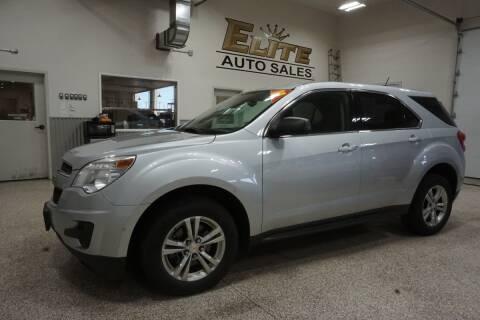2015 Chevrolet Equinox for sale at Elite Auto Sales in Idaho Falls ID
