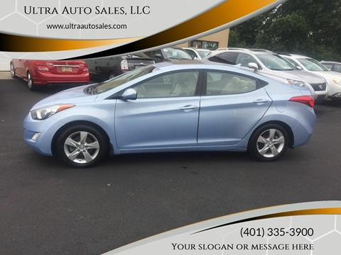 2013 Hyundai Elantra for sale in Cumberland, RI